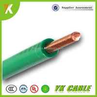 copper conductor 1mm solid wire single core cable