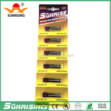 1.5v aaa lr03 am4 alkaline battery manufacturer