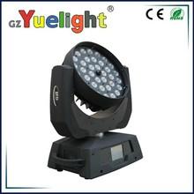 guangzhou 36x10W 4in1 LED zoom moving head wash,led moving head disco lights,moving head led light