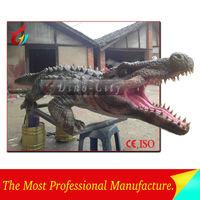Customized High lifelike Animatronic Crocodile