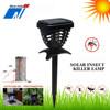 Solar mosquito trap with uv light