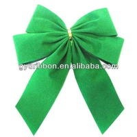 Hign Quality Flower Decorating Velvet Ribbon Bow for Hair Ties /Wedding/Saint Valentine's Day/Christmas