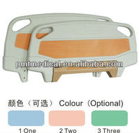 Adjustable bed parts Plastic footboard Hospital Head and footboard