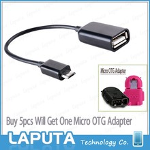 2015 USB A micro usb OTG cable adapter data cable for mobile phone