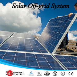 Suntotal 5kw solar power system information
