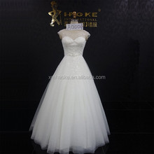 C5758B Sexy See Through Lace Sweetheart Low Back Wedding Dress 2015