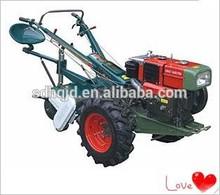 Weifang fábrica directamente la oferta barata caminar tractor, 2 caminar ruedas del tractor