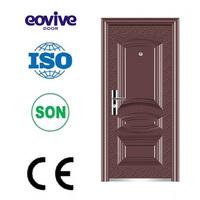 Iron design door made in china cheap wronght iron door