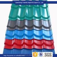 SGCH Prepainted corrugated roofing steel sheet china house container