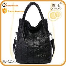 Guangzhou Wholesale Lady Shoulder Bag sheepskin Leather Fashion Handbags for 2015