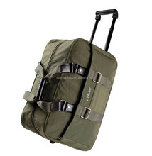 leather canvas polyester duffle trolley sports bag,wheeled briefcase shool bag,shopping military bag