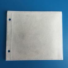 White Refilled Double-Sided CD/DVD Pages for Binders