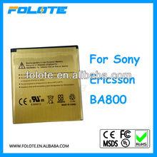 BA800 high capacity 2450mah for Song Ericsson,li-ion phone battery