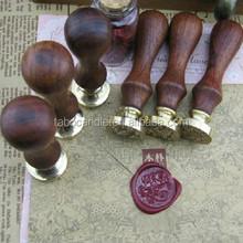 Vintage Wax Seal Stamp/Wood Wax Seal Stamp