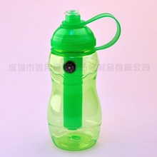 Sports Water Bottle With Ice Bar/Sedex Manufacture New Design High Quality Lower Price Sports Water Bottle With Ice Bar