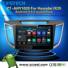 ZESTECH Android 4.4.4 10.2 inch Car dvd player for Hyundai IX25