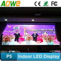 alibaba express AOWE high quality china hd p5 led display screen hot xx