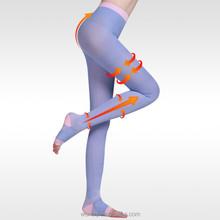 pressure pantyhose open toe varicose veins stockings