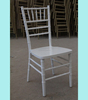 Wood and Resin Silla Tiffany Chair with Soft Cushion Chiavari Chairs