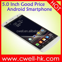 Cheap big screen android phone MTK6572 Dual Core Capacitive Touch Screen Android 4.4 smart phone