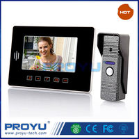 7-inch color LCD video door phone Super thin design shapeTouch button PY808ME11