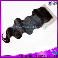2015 New arrival Wholesale price large stock Brazilian hair weave frontal closure body wave