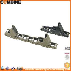 slat conveyor chain for combine harvester