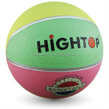 colorful cheap soft rubber basketball / rubber ball manufacturer / eco-friendly durable rubber basketball with good bouncing