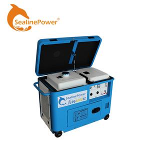 6 kw Top Aperto Facile Riparazione Diesel Silenzioso Generatore Trifase