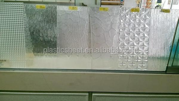 Polystyrene Sheets Pattern Plexiglass Decorative Plastic