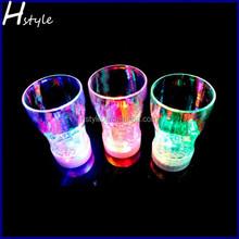 Cola Glasses Flashing Blinking LED Cups Barware Bell Soda Glass SL008
