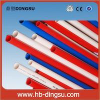 pvc flat coat flexible metal conduit with copper wire insert