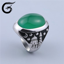 GuoLong fashion jewellery rings silver 925 ring silver men