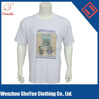 2015 china manufacturer wholesale custom men led t shirt with wholesale price