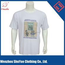 2015 china manufacturer wholesale custom men led t shirt with wholesale price