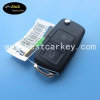 Excellent quality 1j0959753N 433Mhz car key for vw key VW 2 Button remote key