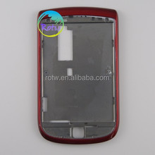 High Quality for blackberry 9800 mobile phone front housing red