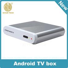 Full HD 1080P media player 4.2.5 MX android 2.3 google internet tv box