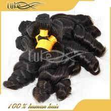 Wholesale 100% raw unprocessed remy hair extensions 100% kanekalon hair braids