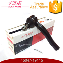 new car accessory spare part left tie rod end for TOYOTA: COROLLA OEM:45047-19115