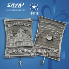 Best selling products personalized die cut cylinder 3d refrigerator magnets 4-color process imprint