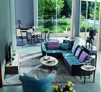2015 Modern Fabric sofa, contemporary corner sofa, dubai sofa Furniture