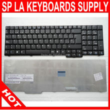 Great Quality Spanish Laptop Keyboard for Acer 5735 7000 9300 9400 Laptop Keyboard