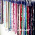 hermoso y suave de impresión reactiva de franela de algodón de la tela para la ropa del bebé