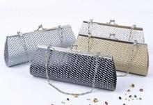 swarovski crystal clutch bag, crochet clutch bag