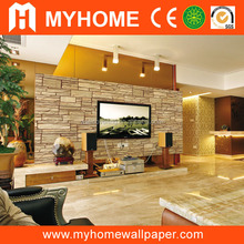south korea living room 3d non-woven wallpaper for office walls
