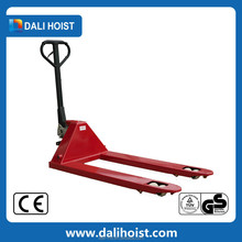 hydraulic pump hand pallet truck 4-wheel battery operated lifter car