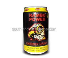 330ml Rambo Power carbonated nutrition drink