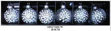 clear glass balls for christmas decoration