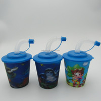 250ml PP Plastic cup customized logo drinking cup